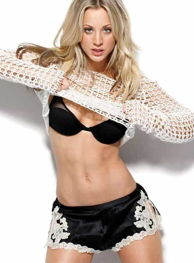 Kaley Cuoco is listed (or ranked) 2 on the list Female Celebrities with the Sexiest Abs