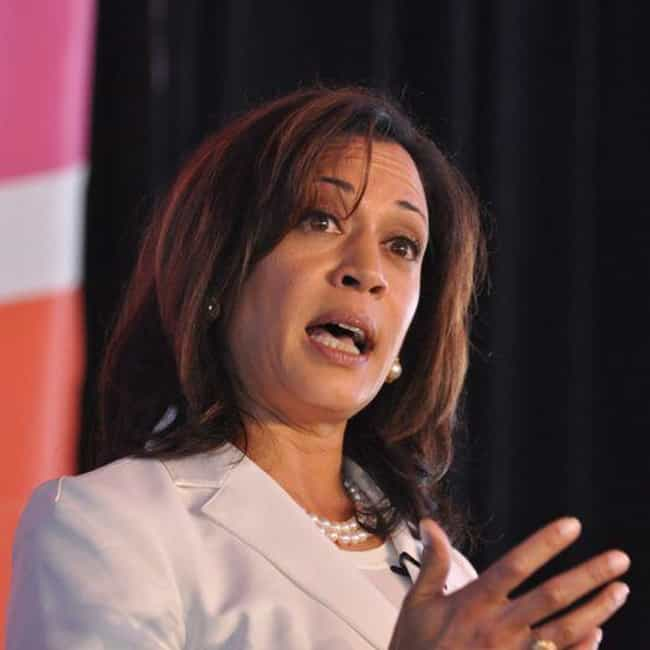 Kamala Harris is listed (or ranked) 4 on the list 25 Famous Black Female Politicians Who Are Great Role Models