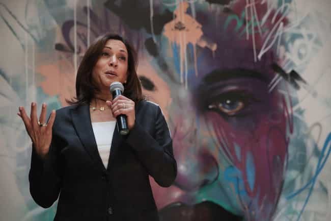 Kamala Harris is listed (or ranked) 3 on the list All The 2020 Democratic Candidates' First Jobs