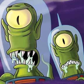 Kang and Kodos is listed (or ranked) 15 on the list The Best Alien Characters of All Time