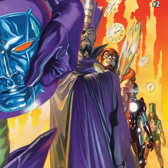 Kang the Conqueror is listed (or ranked) 4 on the list 23 Terrifying Villains Who Haven't Shown Up In The MCU, But Could