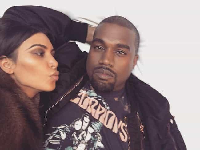 Kanye West is listed (or ranked) 1 on the list Kim Kardashian's Loves & Hookups
