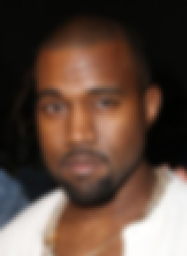Kanye West is listed (or ranked) 1 on the list Famous Male Rappers