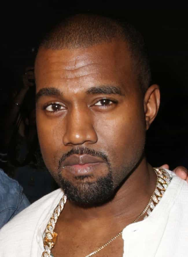 Kanye West is listed (or ranked) 2 on the list Famous Male Philanthropists