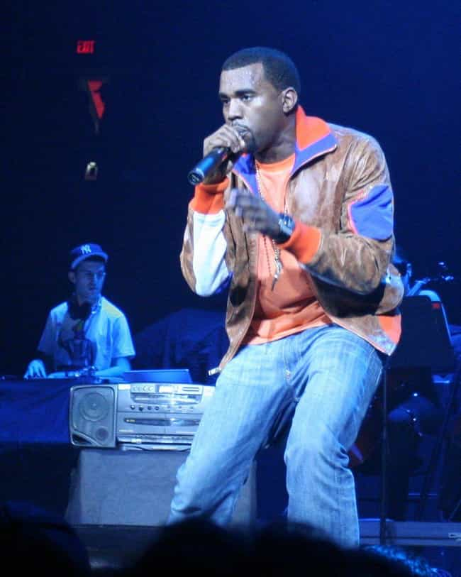 Kanye West is listed (or ranked) 3 on the list Famous Men Who Were Caught Sending Dick Pics