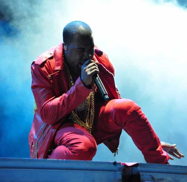Kanye West is listed (or ranked) 2 on the list Rappers Who Have Blonde Hair
