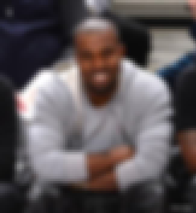 Kanye West is listed (or ranked) 2 on the list 26 Rare Photos of Straight-Faced Celebs Acutally Smiling