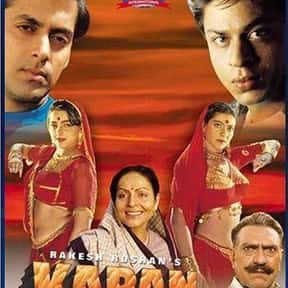 Karan Arjun is listed (or ranked) 6 on the list The Best Bollywood Movies of All Time