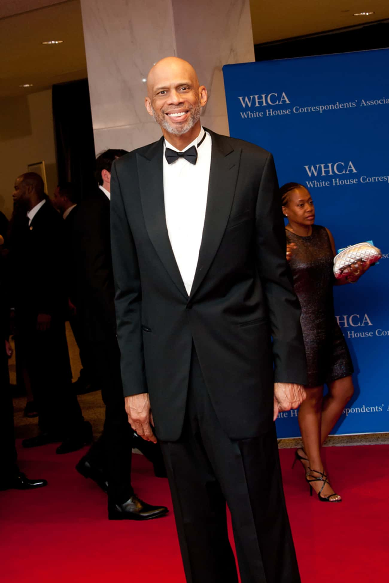 Kareem Abdul-Jabbar is listed (or ranked) 3 on the list 26 Famous People Over 7 Feet Tall