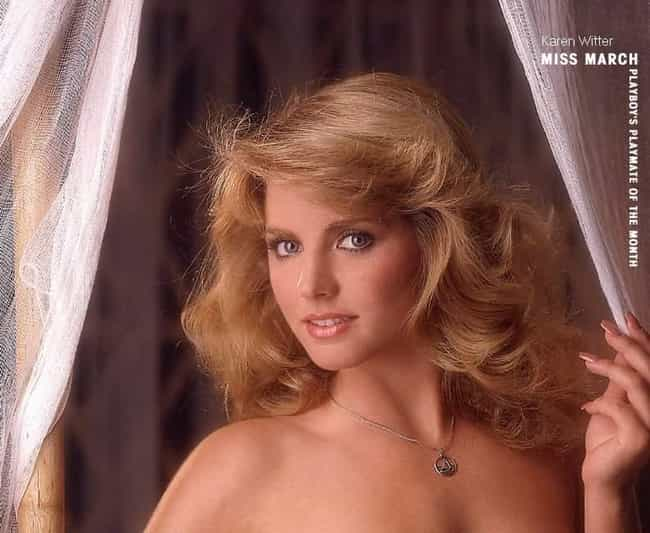 Karen Witter is listed (or ranked) 3 on the list Playboy Cover Models Of The '80s