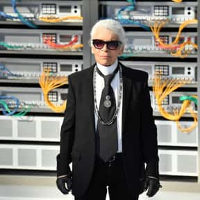 Karl Lagerfeld is listed (or ranked) 8 on the list The Most Influential People in Fashion