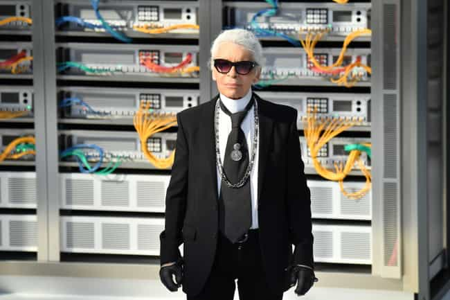 Karl Lagerfeld is listed (or ranked) 3 on the list Famous Fashion Designers from Germany