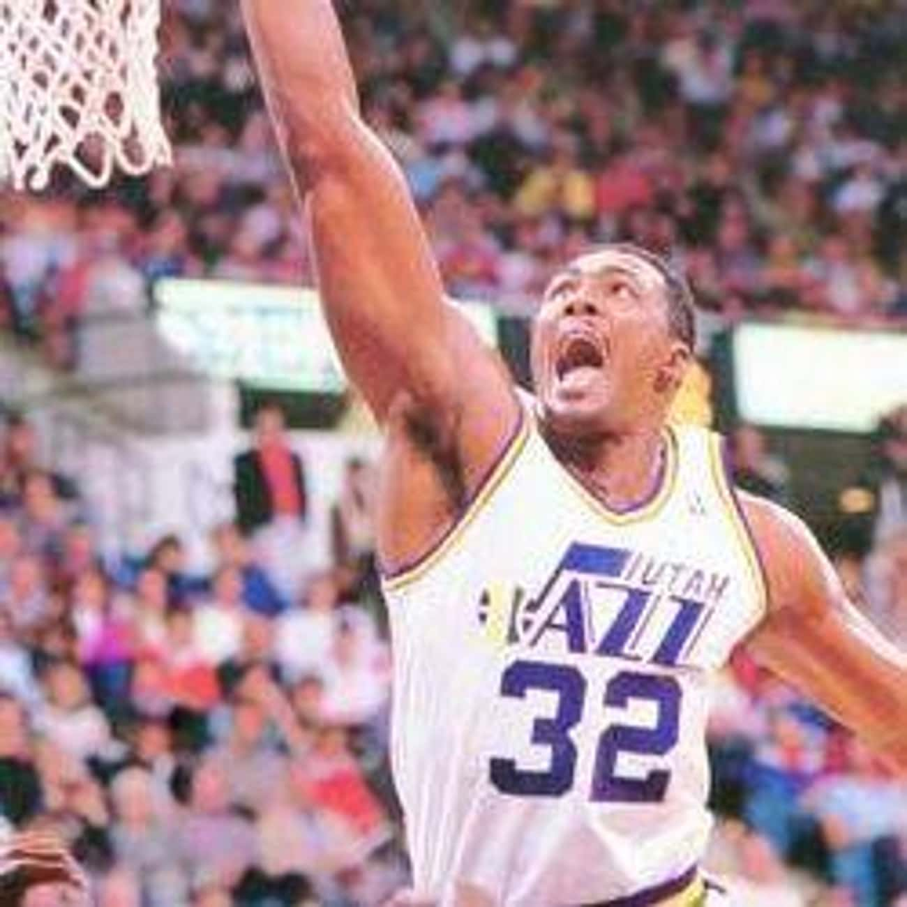 Karl Malone is listed (or ranked) 1 on the list The Best Utah Jazz To Have Their Numbers Retired