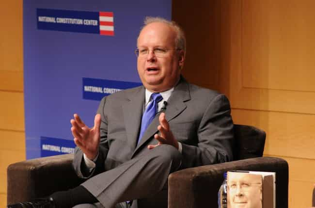 Karl Rove is listed (or ranked) 4 on the list 31 Celebrities Who Were in Pi Kappa Alpha
