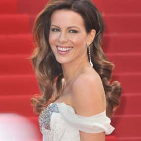 Kate Beckinsale is listed (or ranked) 1 on the list The Most Beautiful Women of All Time
