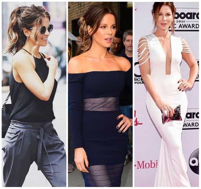 Kate Beckinsale is listed (or ranked) 4 on the list The Most Stylish Female Celebrities