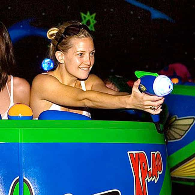 Kate Hudson is listed (or ranked) 2 on the list 55+ Celebrities Enjoying Themselves at Disneyland