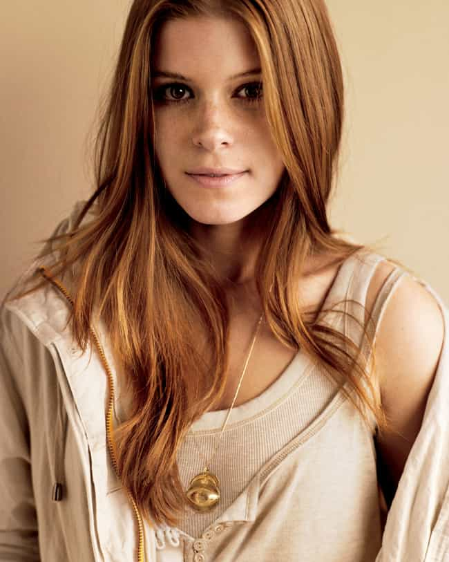 Kate Mara is listed (or ranked) 4 on the list The Most Attractive Redheads Ever