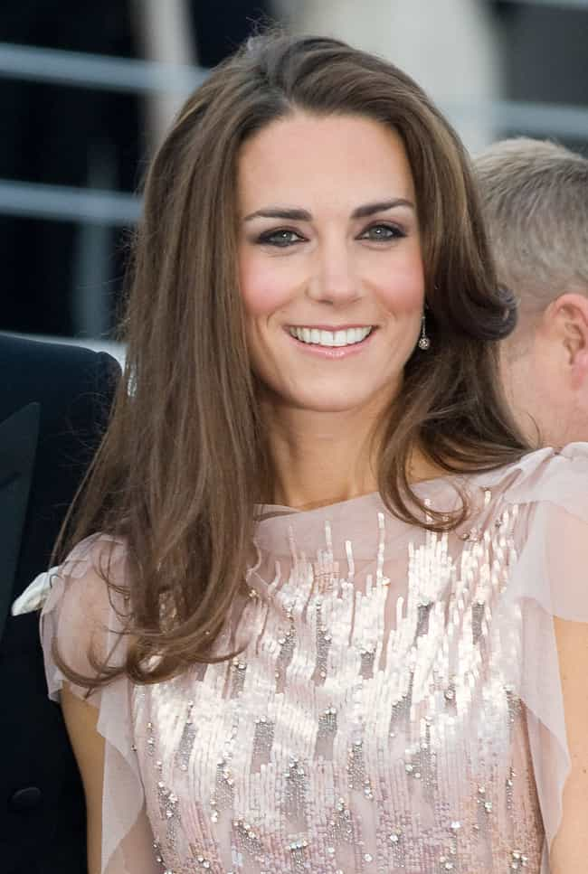Catherine, Duchess of Cambridg... is listed (or ranked) 3 on the list The Best Celebrity Smiles (Women)