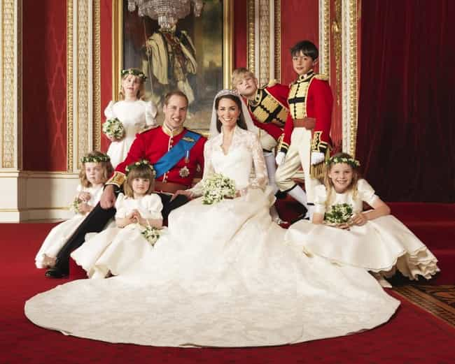 Catherine, Duchess of Ca... is listed (or ranked) 3 on the list 8 Normal People Who Married Royalty