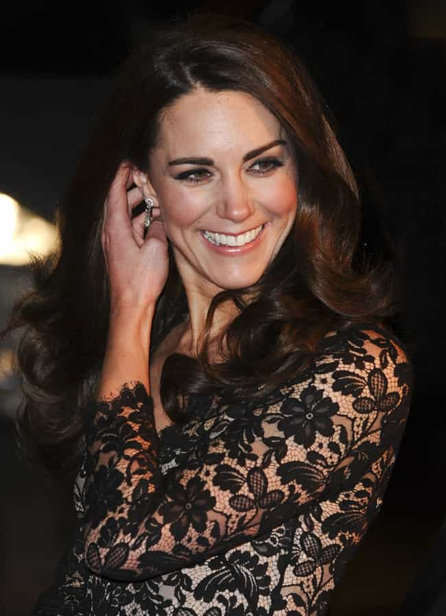 Catherine, Duchess of Cambridg... is listed (or ranked) 6 on the list Beautiful Celebrity Women with Cute Dimples