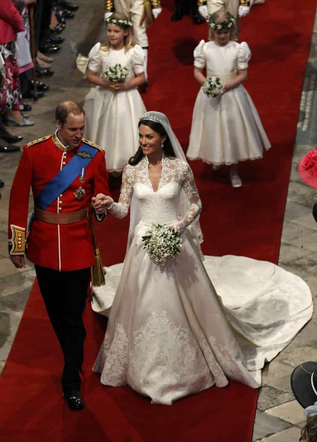 Catherine, Duchess of Cambridg... is listed (or ranked) 2 on the list The Greatest Royal Wedding Dresses In History