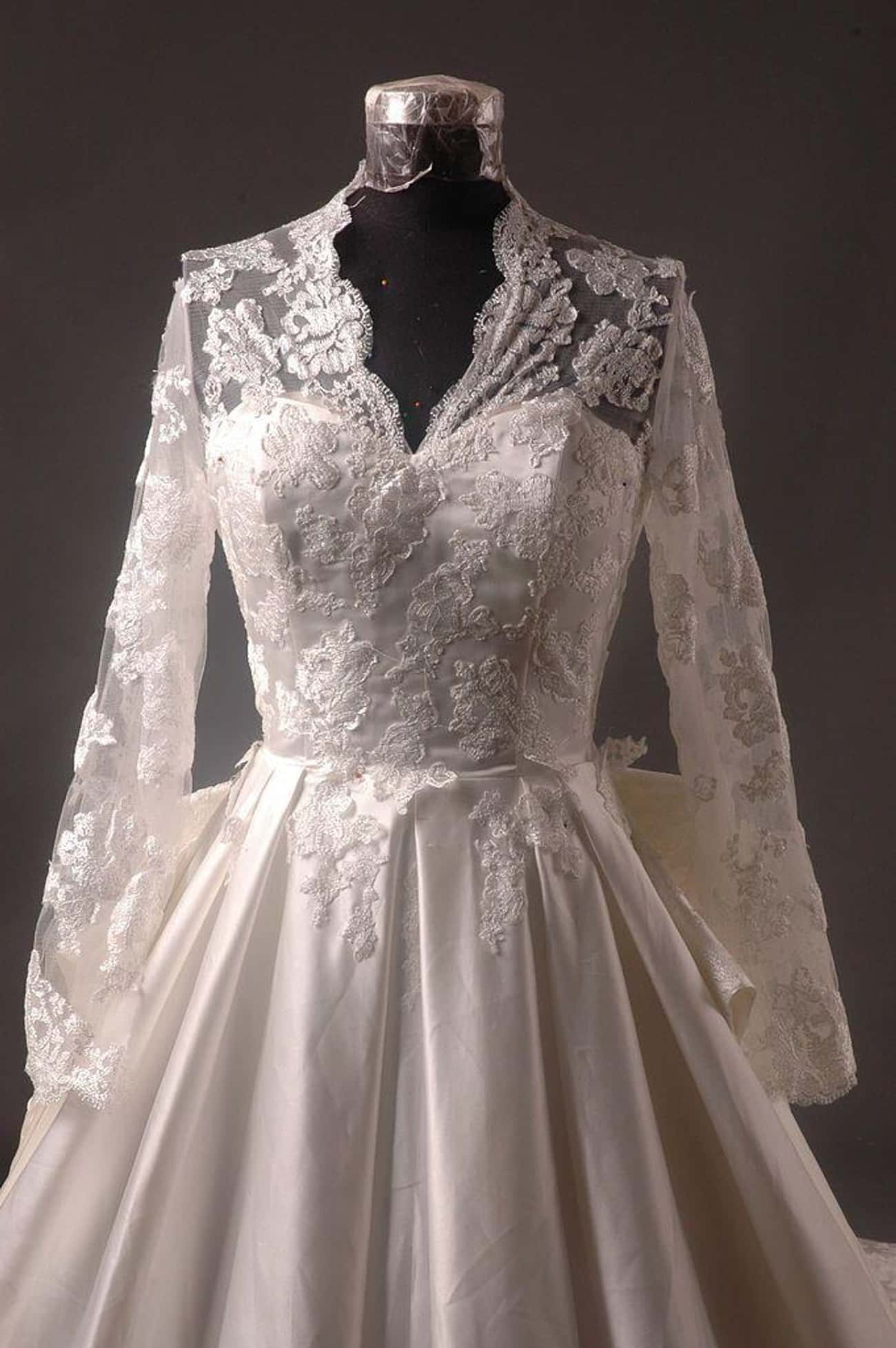 Catherine, Duchess Of Cambridg is listed (or ranked) 2 on the list The Greatest Royal Wedding Dresses In History