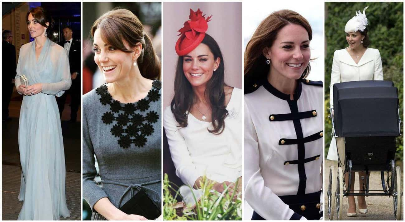Catherine, Duchess of Cambridg is listed (or ranked) 3 on the list The Most Stylish Female Celebrities