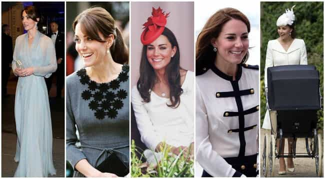 Catherine, Duchess of Cambridg... is listed (or ranked) 3 on the list The Most Stylish Female Celebrities