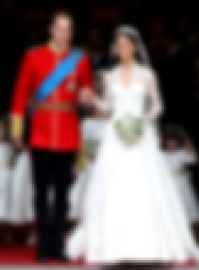 Catherine, Duchess of Cambridg... is listed (or ranked) 2 on the list The Most Stunning Celebrity Wedding Dresses
