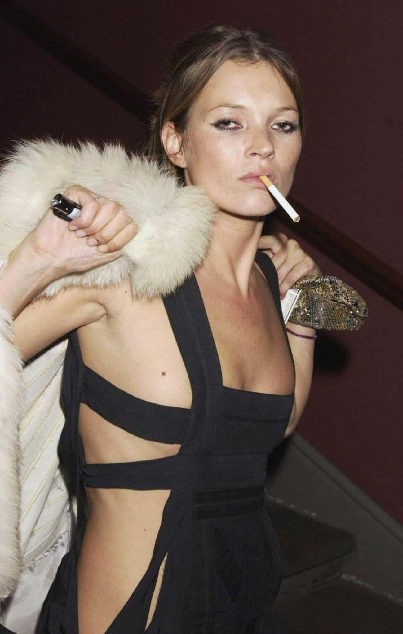 Kate Moss is listed (or ranked) 2 on the list Jack Nicholson's Loves & Hookups