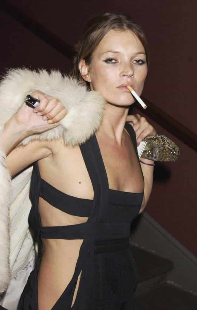 Kate Moss is listed (or ranked) 2 on the list Jack Nicholson's Loves &