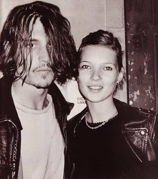 Kate Moss is listed (or ranked) 3 on the list Famous Friends of Johnny Depp