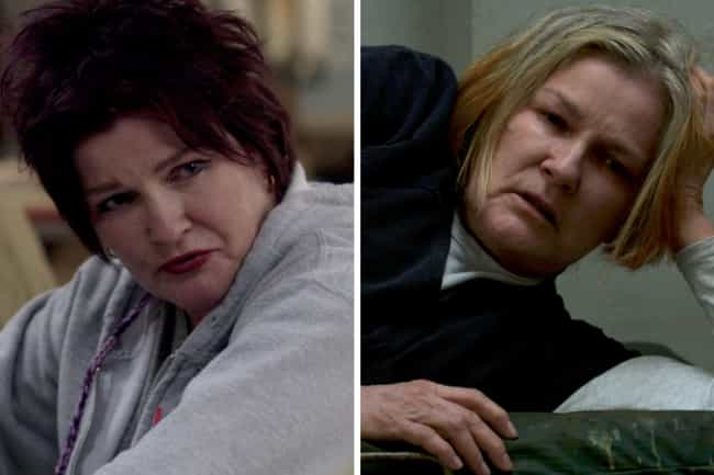 Kate Mulgrew is listed (or ranked) 4 on the list How the Cast of Orange Is the New Black Has Aged Since the First Season