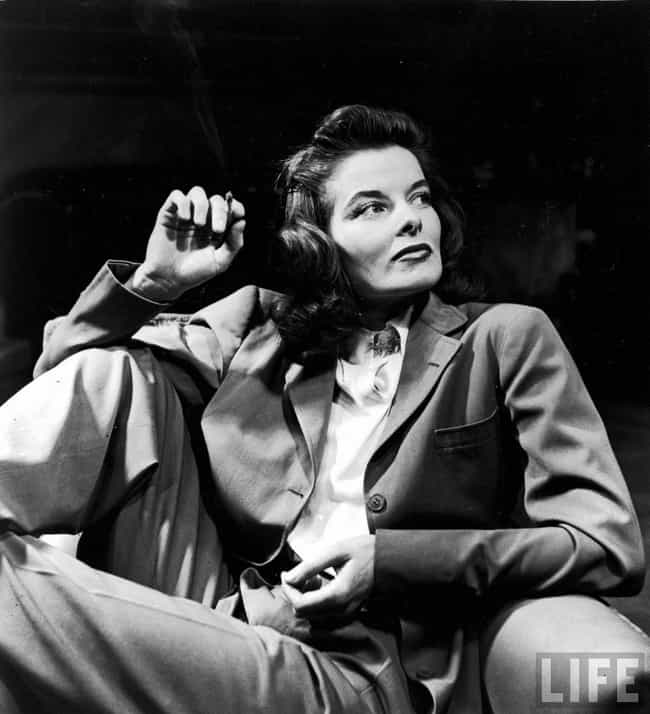 Katharine Hepburn is listed (or ranked) 3 on the list The Top Celebrity Fashion Icons of All Time