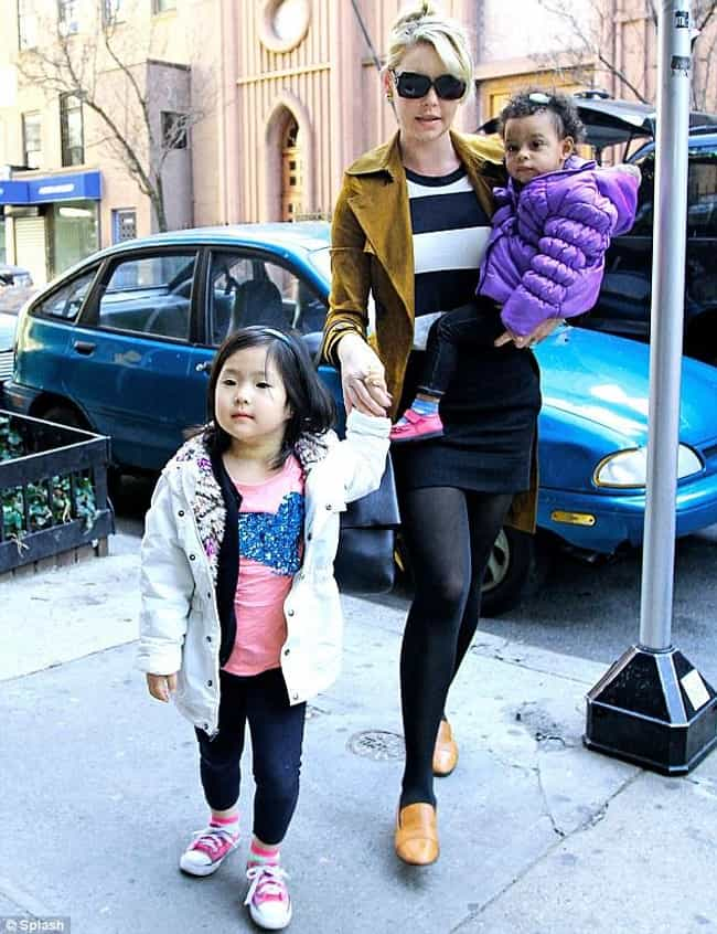 Katherine Heigl is listed (or ranked) 3 on the list 12 Celebrities Who Adopted Children from Asia