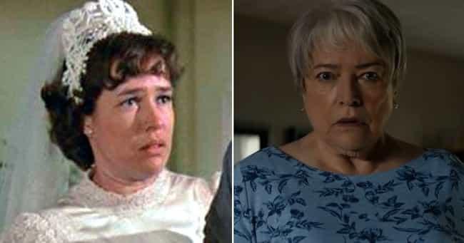 Kathy Bates is listed (or ranked) 3 on the list What Every 2020 Academy Awards Nominee Looked Like In Their Early Acting Roles