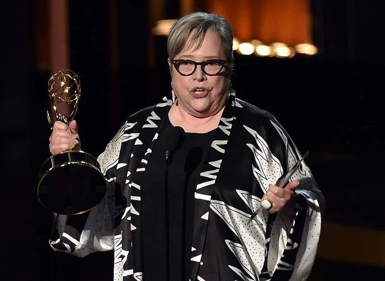 Kathy Bates is listed (or ranked) 4 on the list The Most Successful Obese Americans