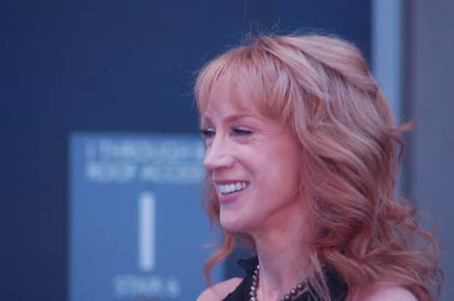 Kathy Griffin is listed (or ranked) 4 on the list Celebrities Banned From Places