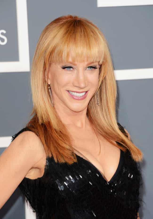Kathy Griffin is listed (or ranked) 3 on the list Women Who Quentin Tarantino Has Dated