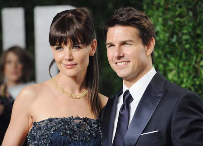 Katie Holmes is listed (or ranked) 31 on the list 48 Famous Couples with Huge Age Differences