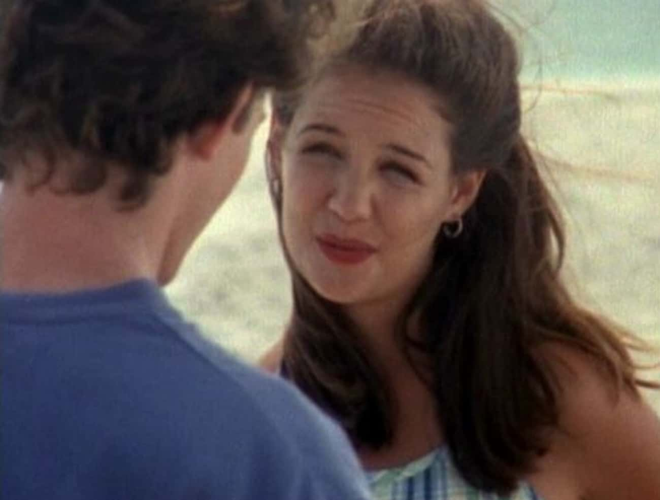 Katie Holmes is listed (or ranked) 1 on the list Teen Actors Whose First Kisses Were for Filming