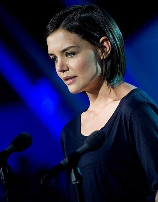 Katie Holmes is listed (or ranked) 3 on the list 20 Famous People Who Converted Religions