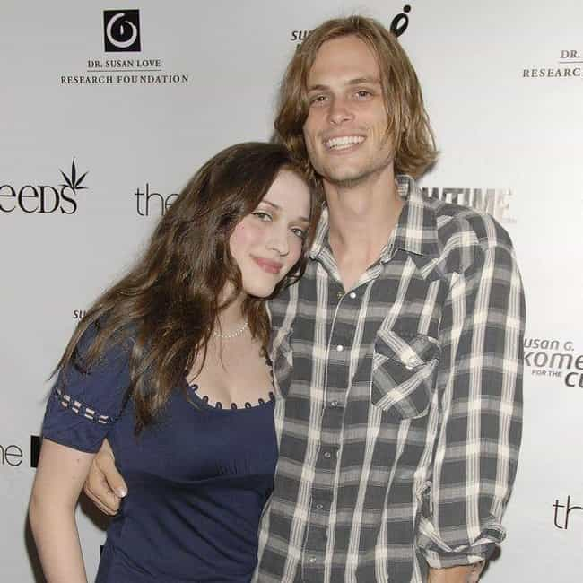 Kat Dennings is listed (or ranked) 4 on the list Matthew Gray Gubler Loves and Hookups