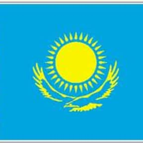 Kazakhstan is listed (or ranked) 5 on the list The Prettiest Flags in the World