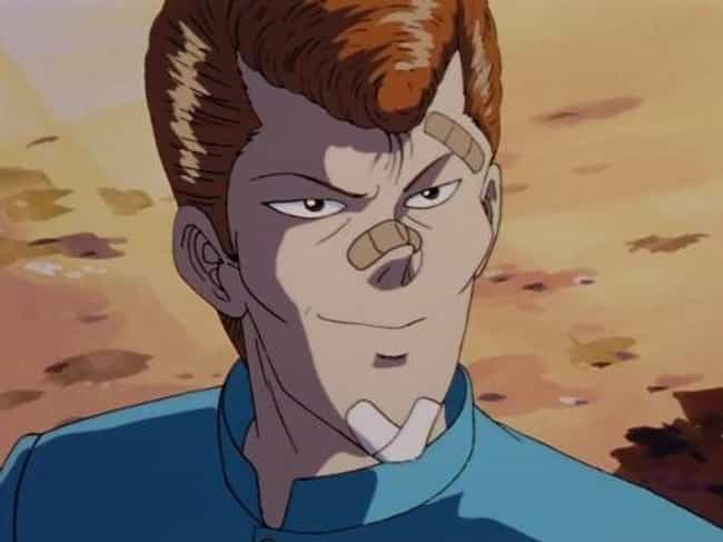 Kazuma Kuwabara is listed (or ranked) 2 on the list 16 Anime Characters Who Are Total Bros