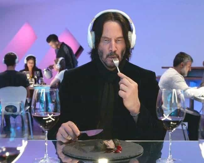 Keanu Reeves is listed (or ranked) 1 on the list Actors Who Played Themselves in Film and Television