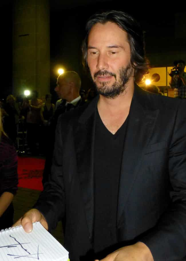 Keanu Reeves is listed (or ranked) 2 on the list Famous Virgo Celebrities