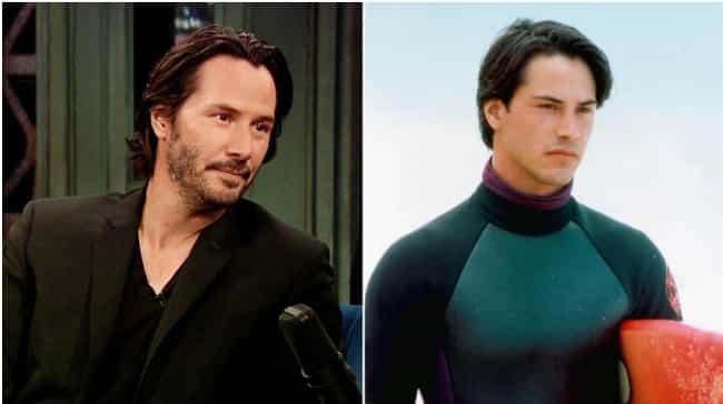 Keanu Reeves is listed (or ranked) 4 on the list Actors Known for Roles Opposite to Who They Are in Real Life