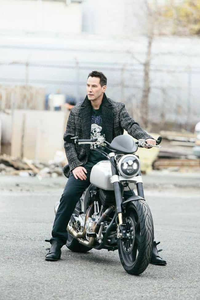 Keanu Reeves is listed (or ranked) 3 on the list Celebrities Who Survived Motorcycle Accidents